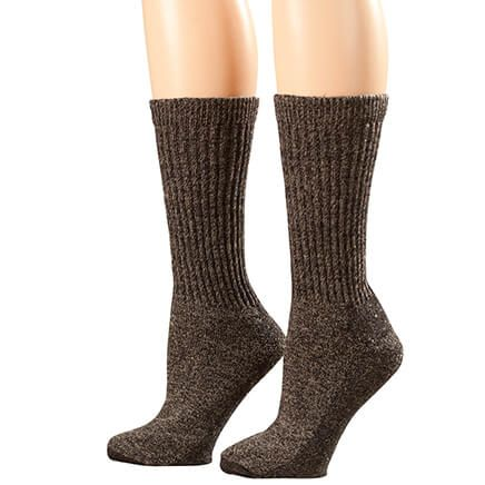 Silver Steps™ Wool Diabetic Socks, 2 Pairs-360627
