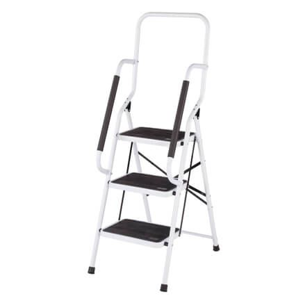 Step Ladder with Handles by LivingSURE™-360948