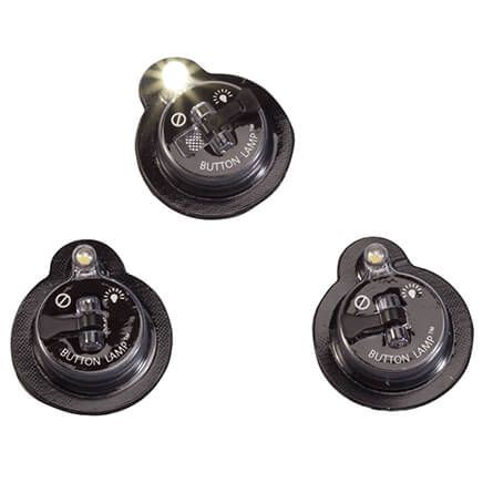 Button Lamp™ Adhesive LED Lights, 3 Pack-361317
