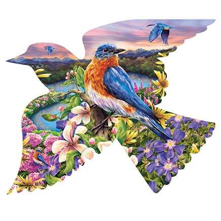 Bird Shaped Puzzle 588 Pieces-361581