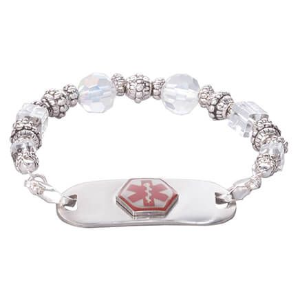 Personalized Medical ID Beaded Bracelet-361637