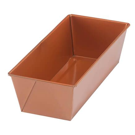 Ceramic Copper Loaf Pan-361660