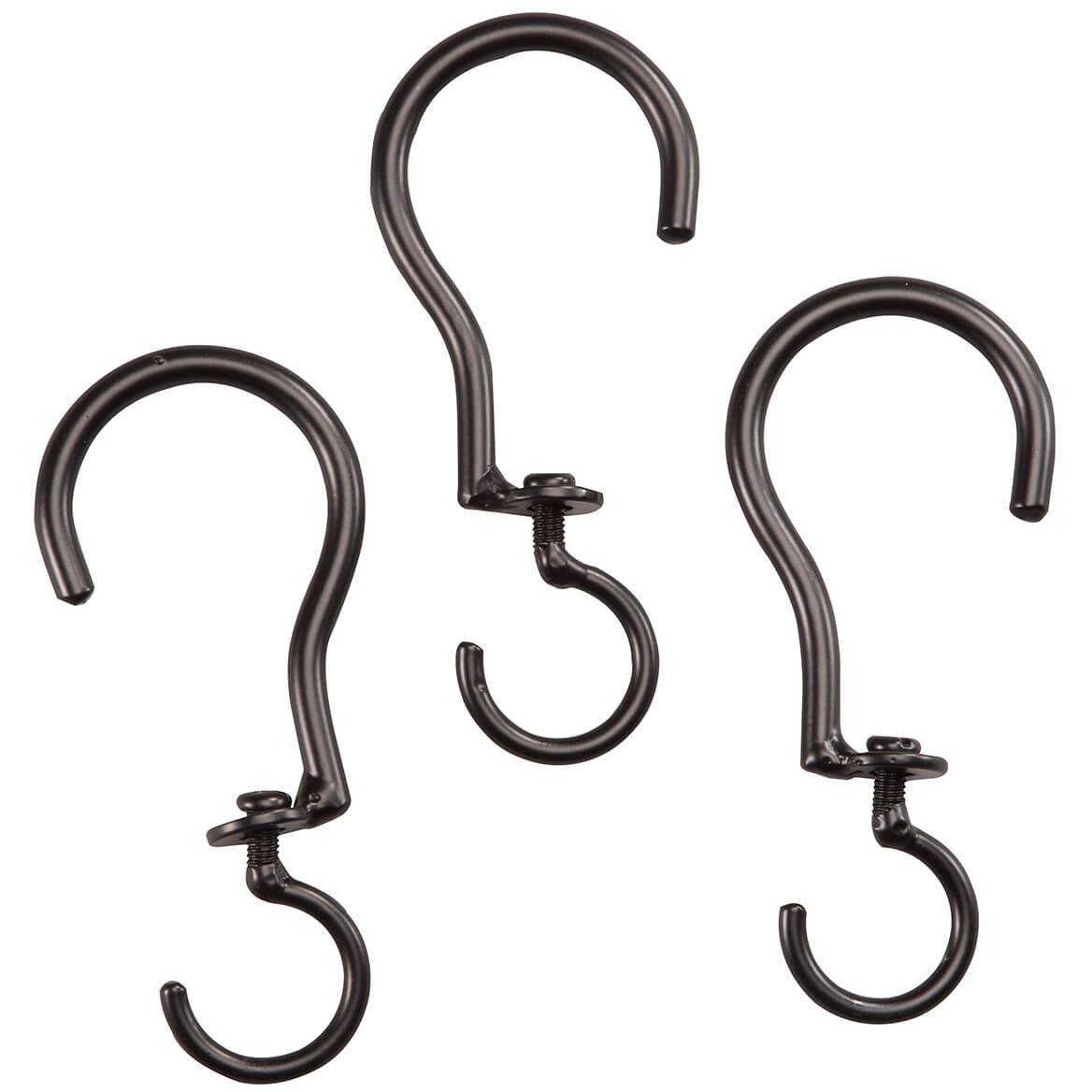 Swivel Basket Hooks, Set of 3-361796
