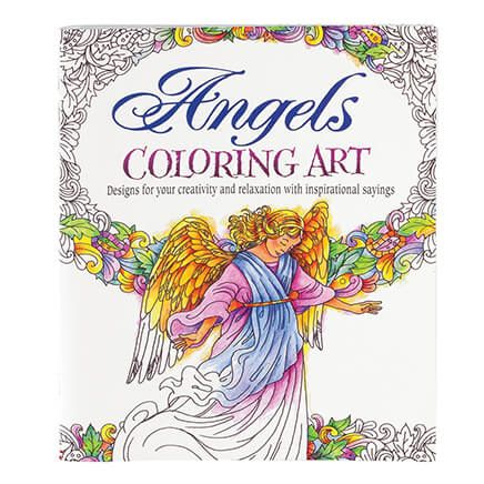 Angels Art Coloring Book-362307