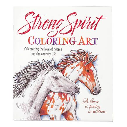 Strong Spirit Coloring Book-362308