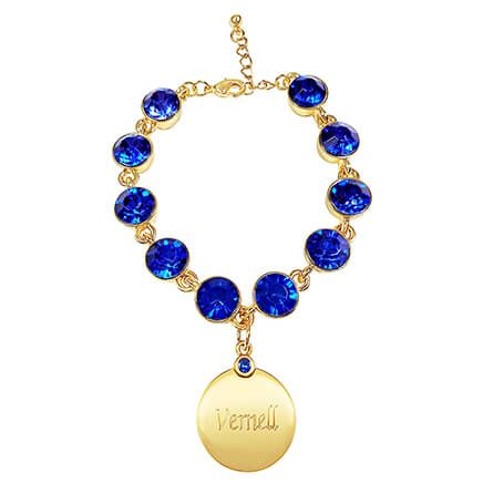 Personalized Birthstone Crystal Bracelet-362406
