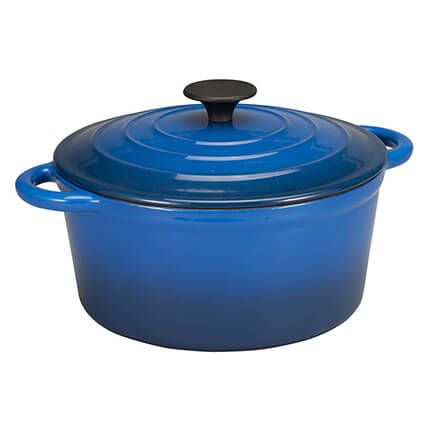 Enamel Cast Iron Dutch Oven, 4 Qt. By Home Marketplace-362484