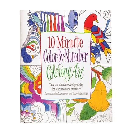 10 Minute Color by Number-362611