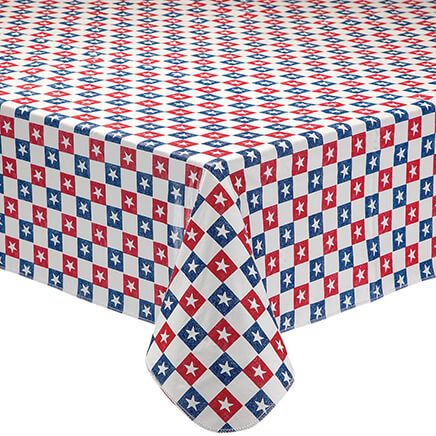 American Stars Vinyl Drop Table Cover-362738