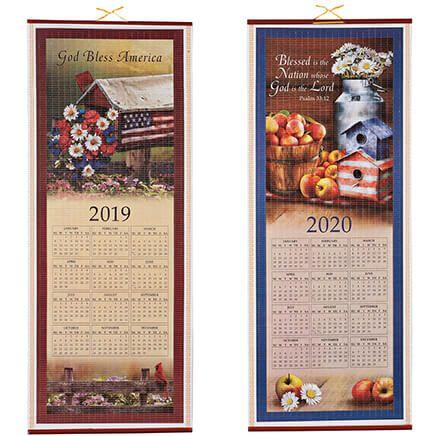 Patriotic Country Scroll Calendar 2019-2020-362907