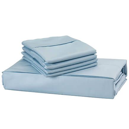 6-Piece 1,000-TC Cotton-Rich Sheet Set-362983