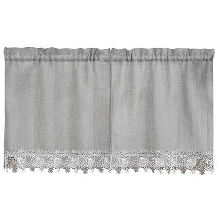 Lillian Macrame Tier Pair-362993