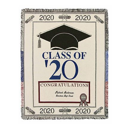 Personalized 2020 Graduation Afghan-363058