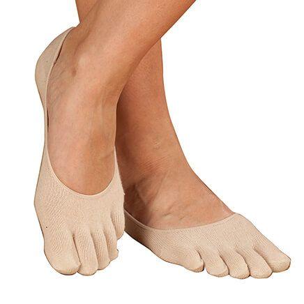 Comfy Gel Heel Toe Socks-363241