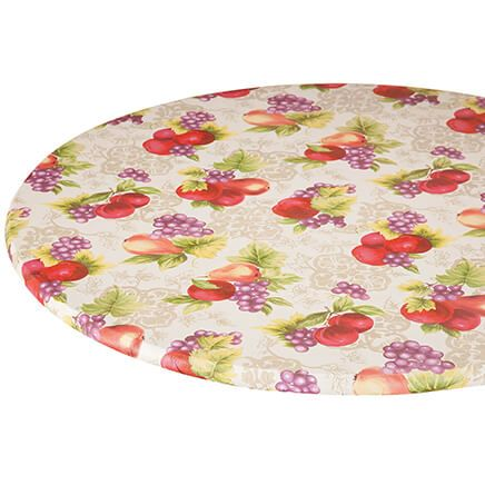 Fruit Harvest Vinyl Elasticized Tablecover-363281