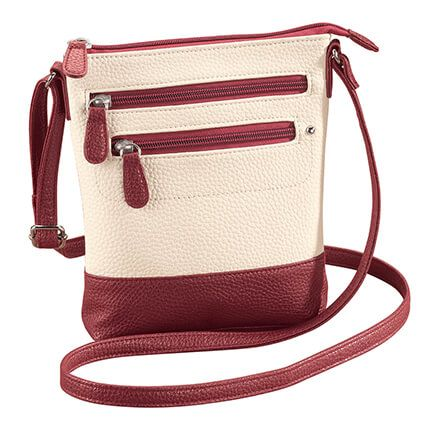 Leather Crossbody Bag-363314