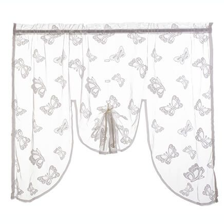 Butterfly Lace Swag Topper-363344