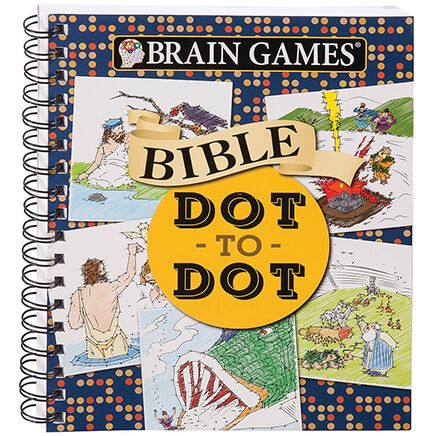 Brain Games® Bible Dot to Dot-363475