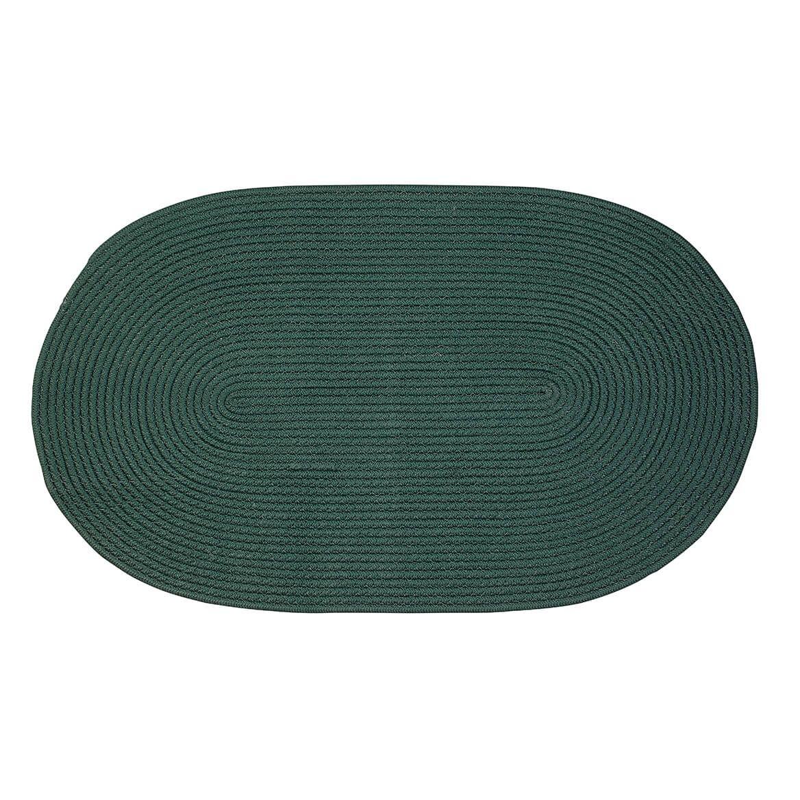 Solid Traditional Braided Rug by OakRidge       XL-363864