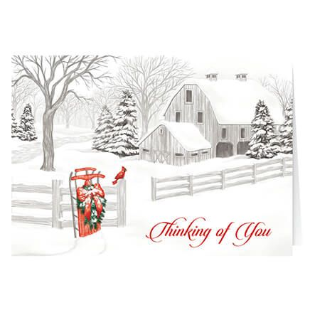 Thinking of You Christmas Card Set of 20-364002