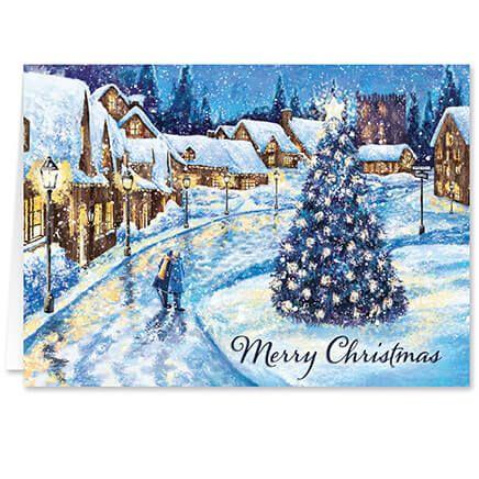 Christmas Glow Christmas Card Set of 20-364030