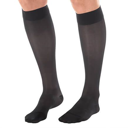 Silver Steps™ Sheer Compression Knee Highs, 15–20 mmHg-364099