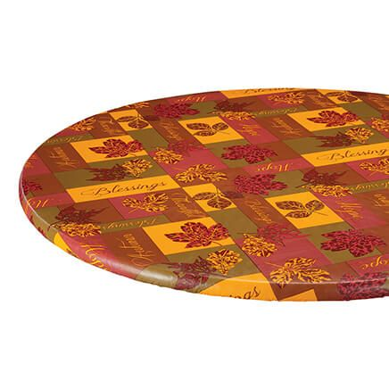 Falling Leaves Blessings Elasticized Table Cover-364100