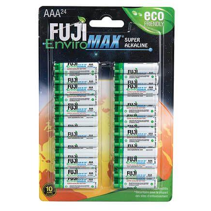 Fuji Super Alkaline AAA Batteries, 24-Pack-364148