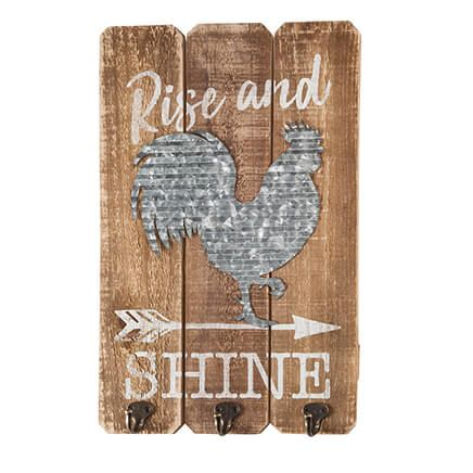 Rise and Shine Rooster Wall Décor-364215