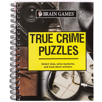 Brain Games® True Crime Puzzles book-364541
