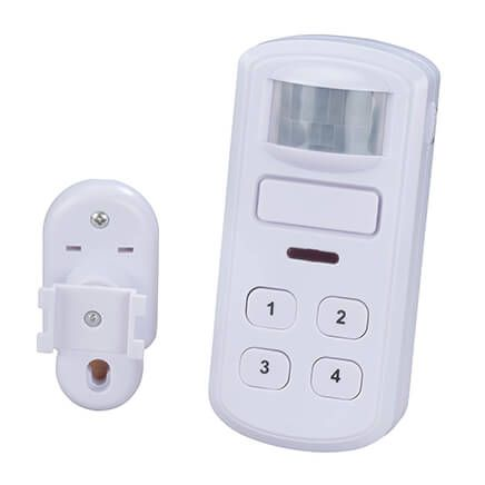 Motion Activated Alarm with Keypad-364558