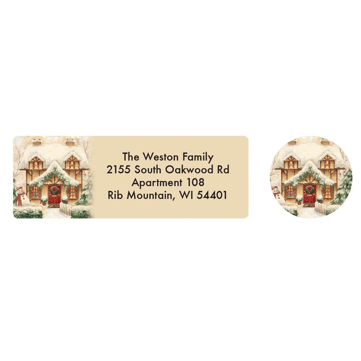 Personalized Cozy Cottage Address Labels & Envelope Seals 20-364725