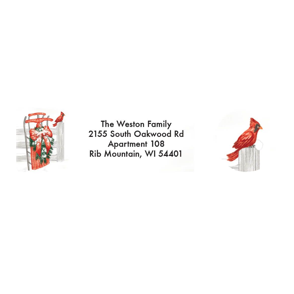 Personalized Thinking of You Address Labels & Envelope Seal 20-364747