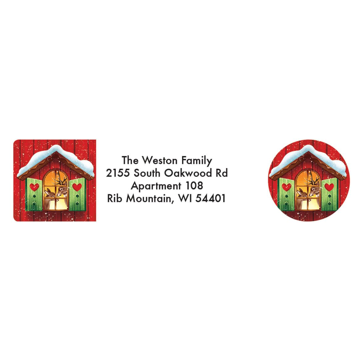 Personalized Our Years Together Address Labels & Seals 20-364749