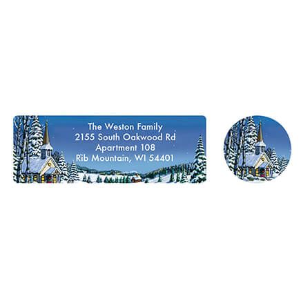 Personalized Remembering You Address Labels & Seal 20-364757
