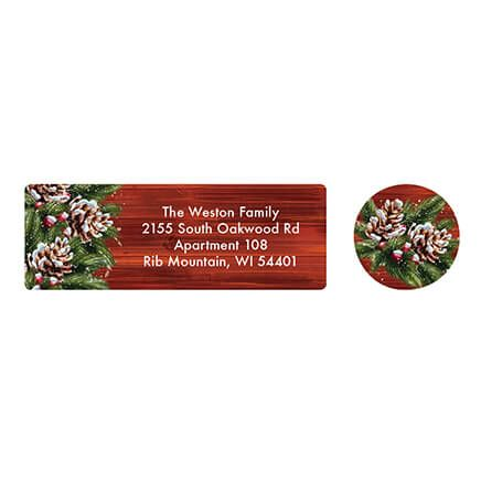 Personalized Christmas Joy Address Labels & Seals 20-364760