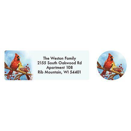 Personalized Songbird Calendar Address Labels & Seals 20-364763