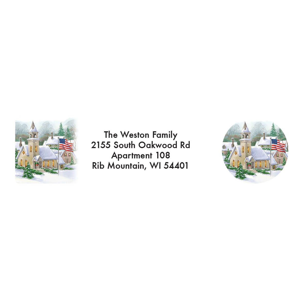 Personalized God Bless America Address Labels & Seals 20-364778