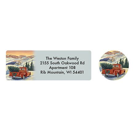 Personalized Hearts Come Home Address Labels & Seal 20-364793