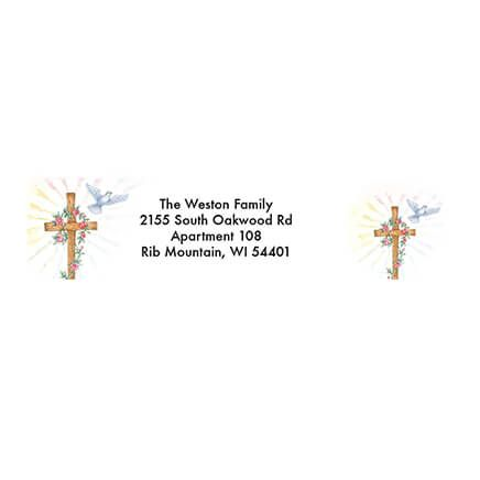 Personalized God Grew the Tree Address Labels & Seals 20-364795