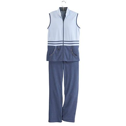 2 Piece Vest and Pant Set by Sawyer Creek-365509