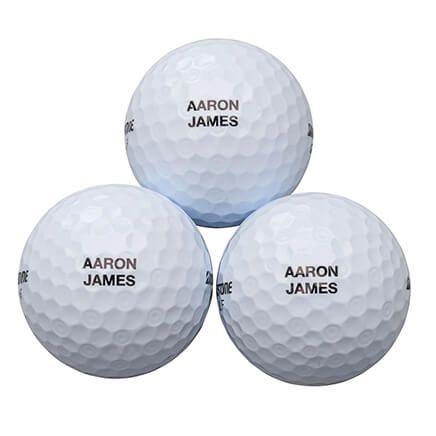 Personalized Bridgestone 3 Golf Balls Sleeve-365572