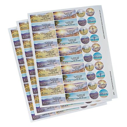 Personalized Faith Labels & Seals 60-365589