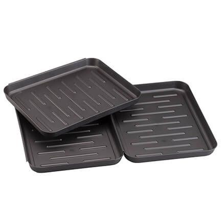 Connecting Shoe/Boot Drip Trays, Set of 3-365694