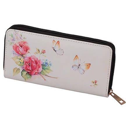 Designer Wallet Pink Roses-365833