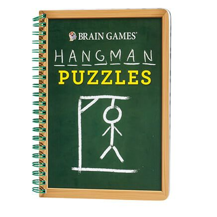 Brain Games® Hangman Puzzles Book-365850