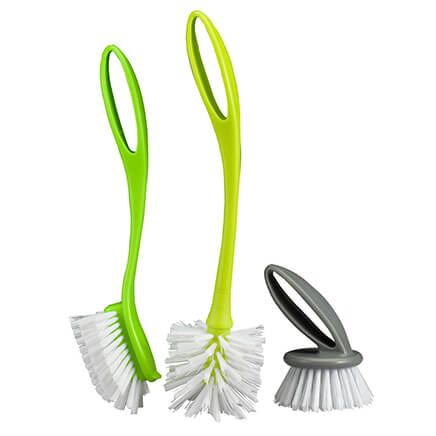 3-Pc. Dish Brush Set by Home-Style Kitchen™-365908