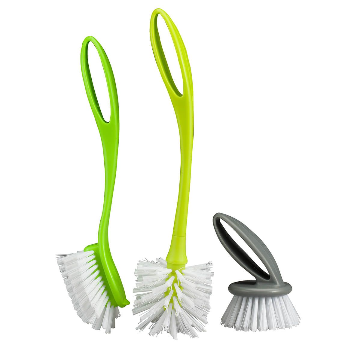 3 Pc Dish Brush Set by Home Style Kitchen-365908