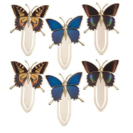 Butterfly Bookmarks, Set of 6-366062