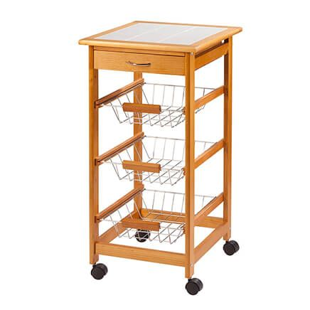 Home Marketplace Rolling Kitchen Cart-366188